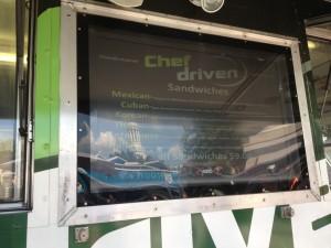 Menu - Chef Driven - 8-15-13