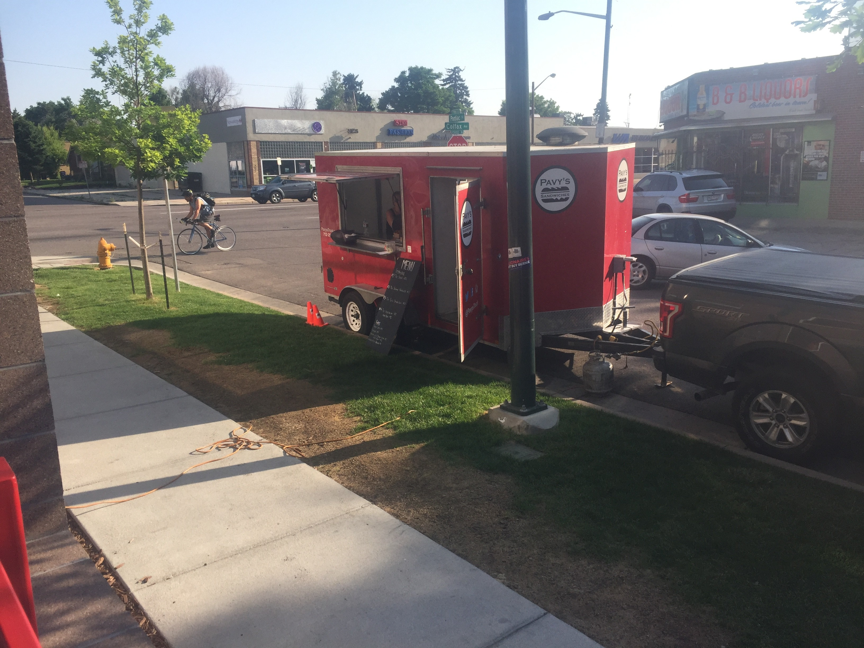 Food Truck Stops Here